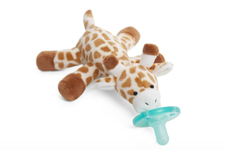 Pacifier that's practically hands free! - Pick your favorite animal (be sure to have a backup or two)!