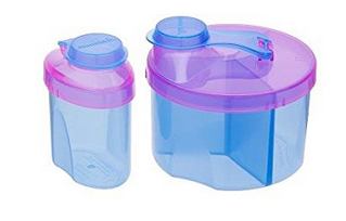Every parents' worst nightmare is being stuck somewhere without milk for an infant so if you use formula pack one of these (1 has 3 sections that you can fill with the right amount of formula for a bottle, the other is a single you can easily throw in your purse)