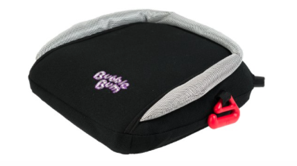 Travel booster seat – if you've got a bigger kid who doesn't need to be harnessed – this is a great find that it compact and easy to travel with